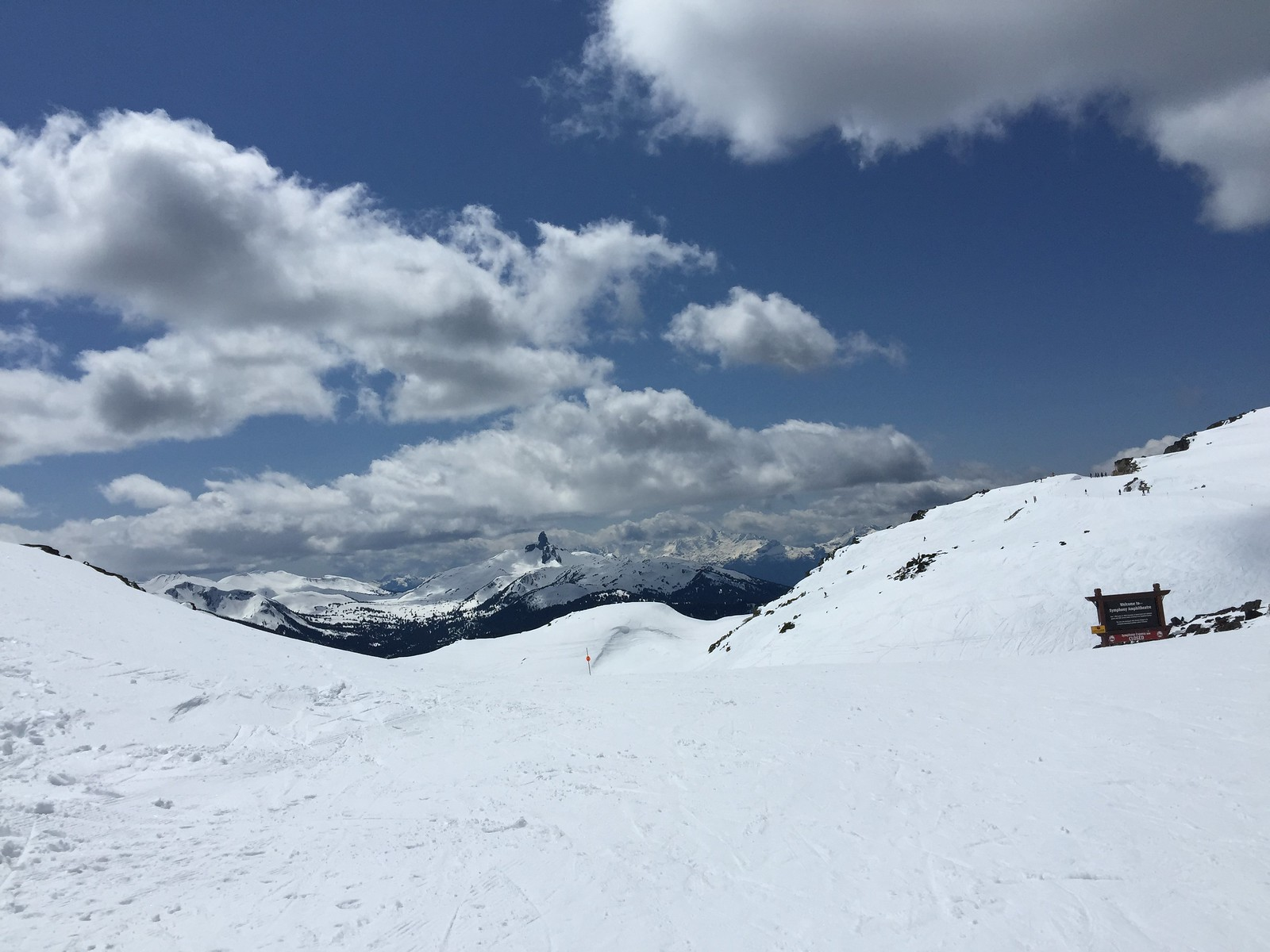 Great spring snow at Harmony at Whistler