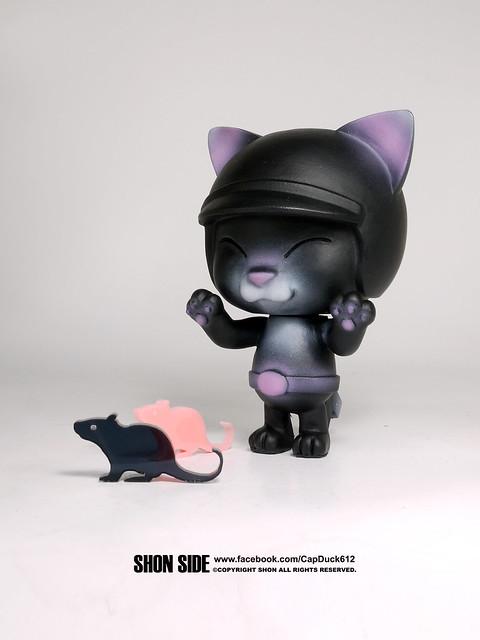 SHON SIDE【黑色旋風貓騎士】BLACK CAT RIDER 小老鼠你們別跑!!