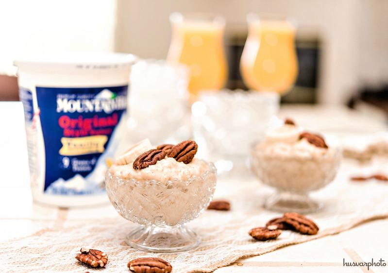 protein steel cut oats peanut butter yogurt #simplelife #mountainhighyoghurt