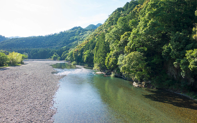 Azure river