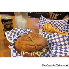 "Aloha!! The #LoveChild of the Prince Cali Burger. #whatsprinceeating: ""The Teriyaki Burger-Grilled pineapples and Teriyaki sauce"" www.princesdailyjournal.com #princesdailyjournal #princeinthecity #foodie #foodart #myfab5 @bestfoodsandiego @best_of_san_die"