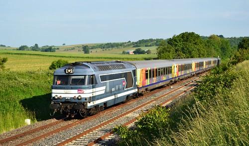 🇫🇷 SNCF BB 67517 + TER 830905 te Ettendorf