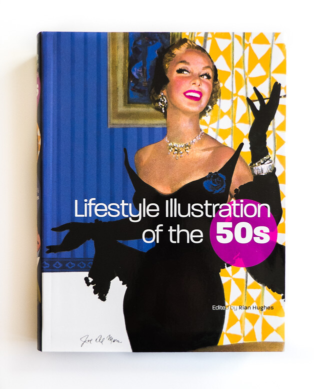 book review - lifestyle illustration of the 50s