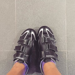 Spinning class- great way to fight jet lag and ultra long haul flight cankles. #fitnessgoals
