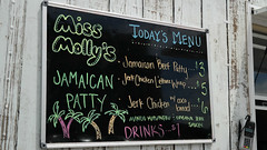 Menu Miss Molly's Jamaican Patty Food Truck i…