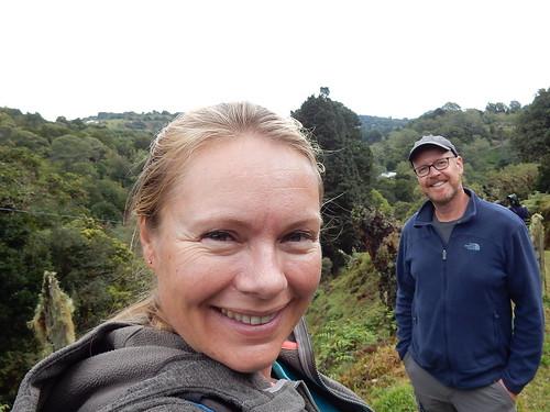 Quetzal toertje - bird watchers duidelijk vroeg opgestaan