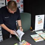 Lancashire Market in Preston 2016 - book signing