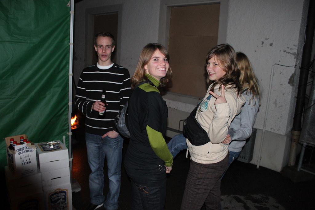 2009 Silvesterparty in Höri