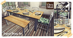 Tropical Dining Set CHEZ MOI