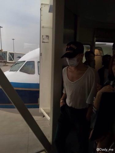 BIGBANG arrival Wuhan 2015-06-26 018