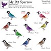 [ free bird ] My Pet Sparrow Gacha Ad