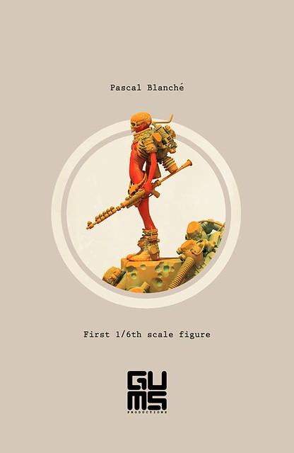 Gums Productions × Pascal Blanché【骷髏哨兵】Sentinel 1/6 比例人偶作品