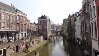 Scenic Utrecht canal