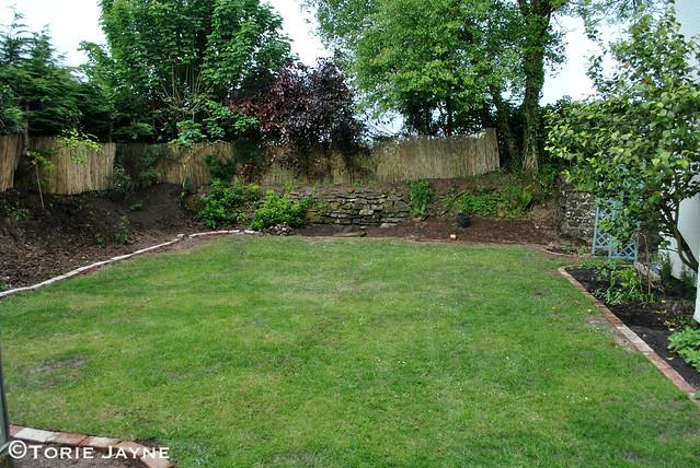 Working on my side garden