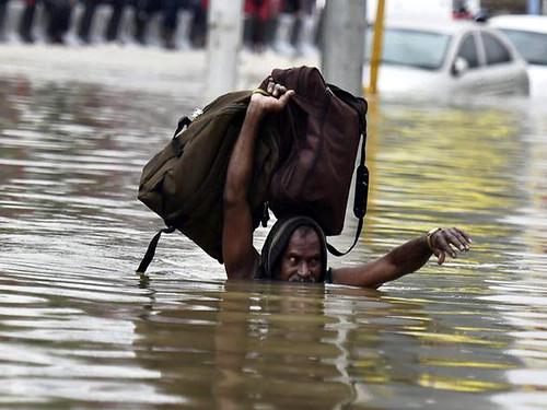 भारत में बाढ़ से तबाही