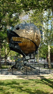 Image of  The Sphere. nyc new york