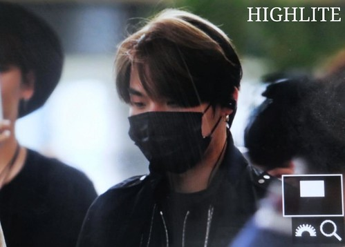 Big Bang - Gimpo Airport - 05jun2015 - Dae Sung - High Lite - 03