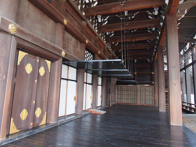 西本願寺-御影堂側門