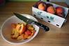 Peaches: a Renaissance-style still life
