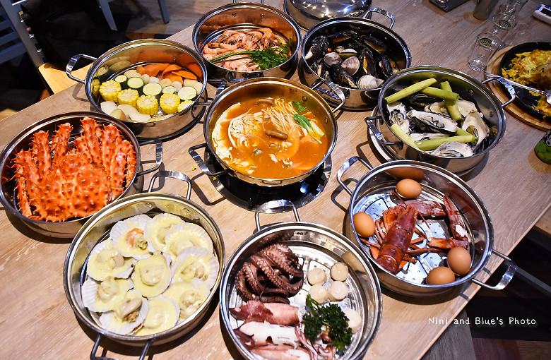 釜山珍妮佛台中韓式料理九層海鮮塔文心市政府19