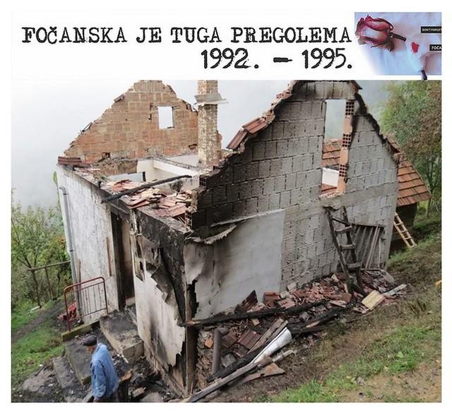 FOČANSKA JE TUGA PREGOLEMA  1992. - 1995.