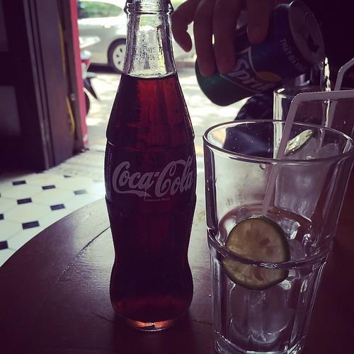 瓶のコーラ来た#ハノイ#ベトナム