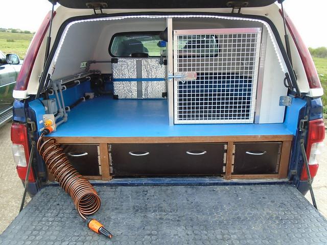 K9 Grooming Van Conversions