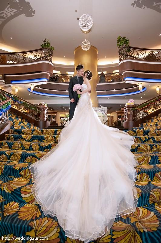 台中婚攝@台中新天地崇德店_003立群&儀婷 訂結婚喜宴