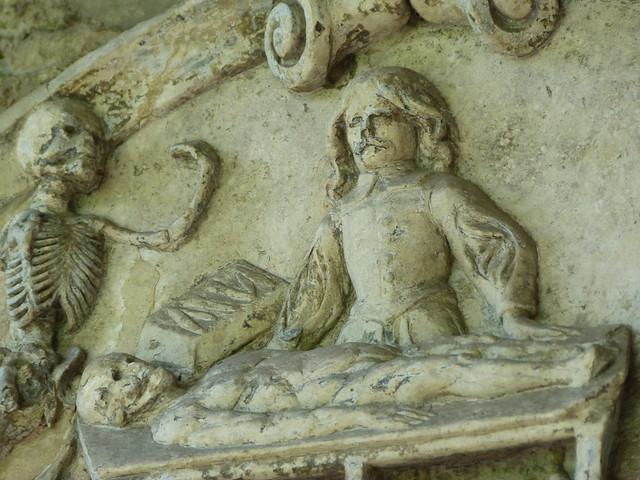 Detalle de la Abadía de San Bavón (Gante, Flandes)