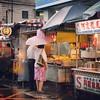 꽃보다 중년의 오래된 여행의 기록... 2010년 가을 대만 그 네번째 날 #Travel #Ruifang #瑞芳 #Taiwan #2010 #Memories #Rainy #Street #Food #Stall #Couples #Umbrella