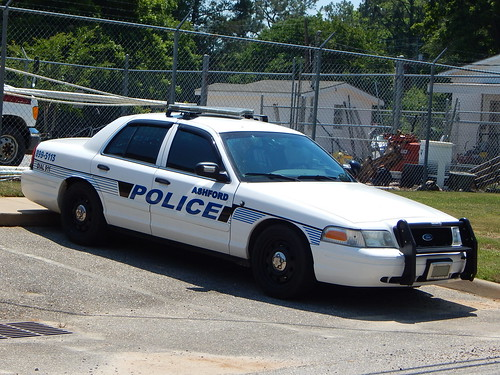 Ashford Police Dept Ford Crown Victoria