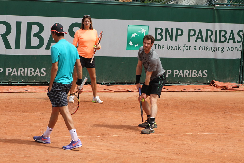 Kokkinakis Mauresmo and Murray