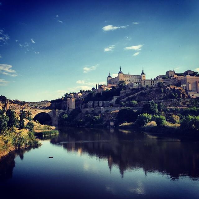 Vista de Toledo sobre el Tajo
