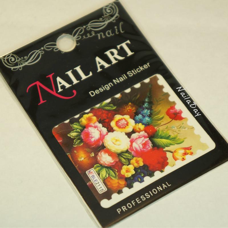 NailaDay: China Glaze Strawberry Fields with Born Pretty water decal