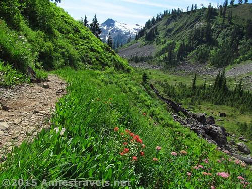 The trail to Lake Ann on the Mt. Baker Highway, Washington