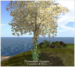 DD Summer Garden Tree Scene_001a