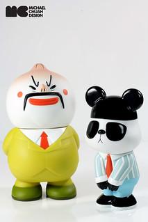 馬來西亞人氣漫畫《辦公室生存記》包老闆 & 熊夫 精彩搪膠作品推薦!