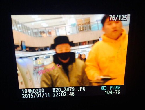Big Bang - Gimpo Airport - 27feb2015 - Tae Yang - pippi_G - 03
