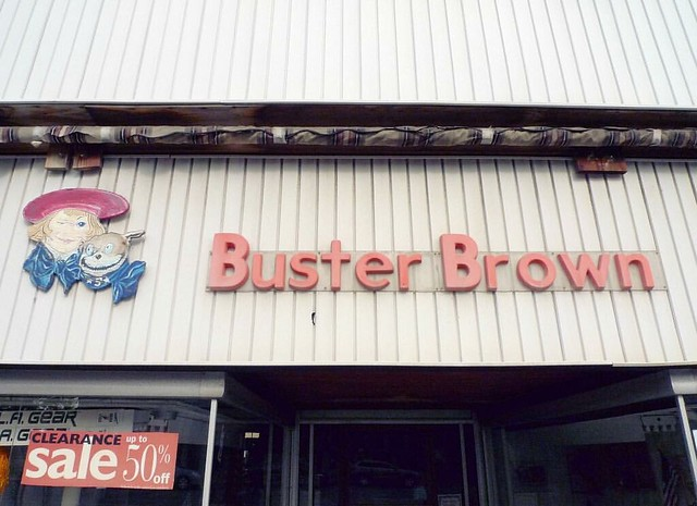 #vintage #busterbrown #sign #shoes #shoestore #pittsfield #pittsfieldma #massachusetts #oldschool #cool