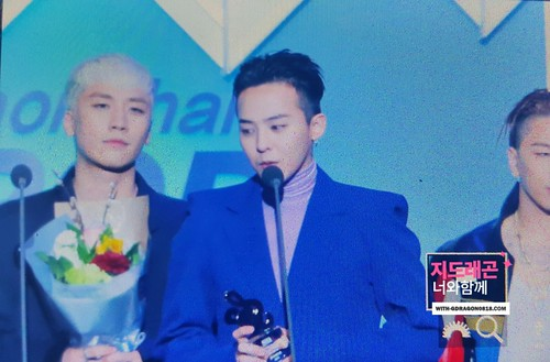 Big Bang - The 5th Gaon Char K-Pop Awards - 17feb2016 - With G-Dragon - 02