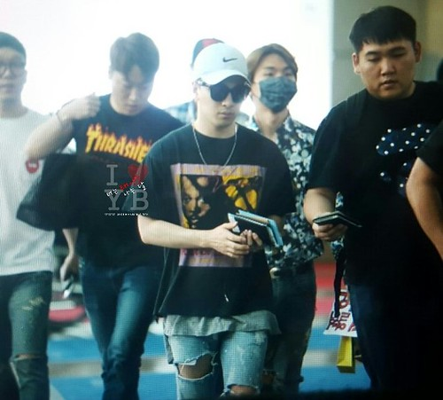 Big Bang - Incheon Airport - 05jun2016 - Urthesun - 03