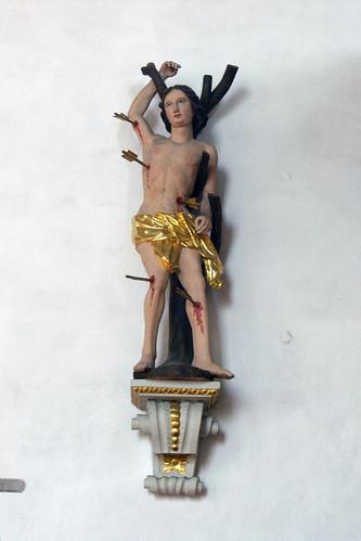 St. Ägidius, Wolfmannshausen, St. Sebastian