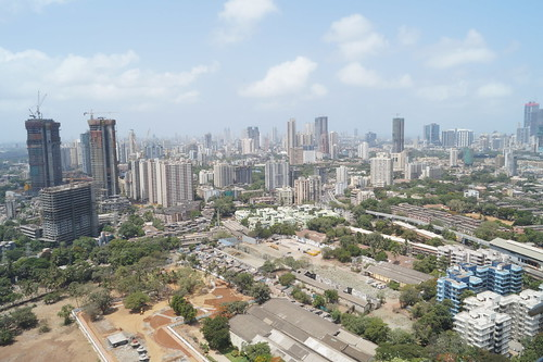 city sea sky india tower modern skyscraper view floor harbour mumbai scape 34th megapolis dadar wadala