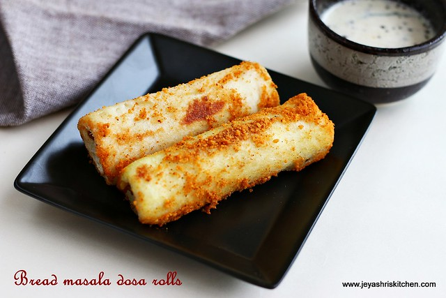 masaladosa -bread rolls