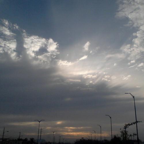Es hermoso disfrutar de todo lo que Dios nos da... #Guayaquil #Ecuador #nubes