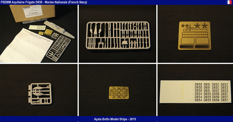 FREMM Aquitaine D650 Frégate ASM - Gwylan Models 1/700 par Ayala Botto 18196558521_992f5681d1_c