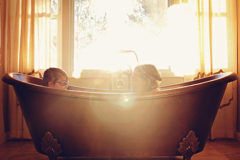 Beautiful Bathtub Light