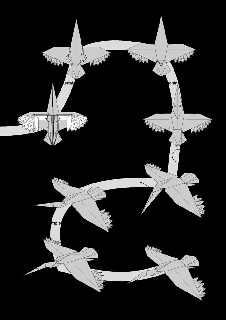 Flying Crane Diagrams Complete