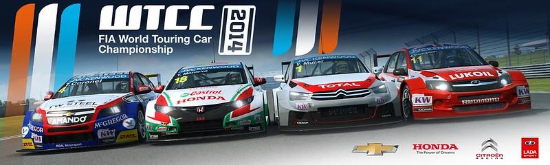 R3E WTCC 2014 Car Pack