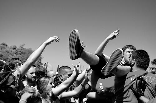 Vanna Crowd- Mansfield, MA, Warped Tour 2016.